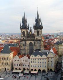 Letenky do Prahy
